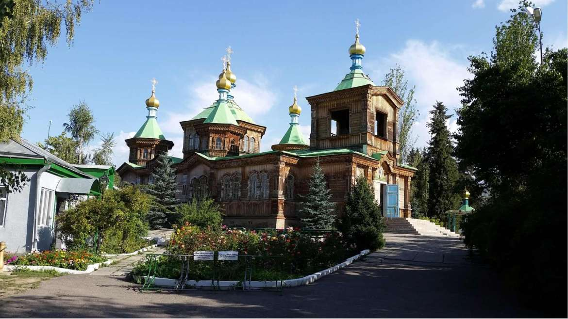A trip to Kyrgyzstan- the Russian Orthodox church