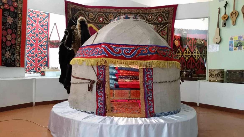 A trip to Kyrgyzstan- yurt in Karakol History museum