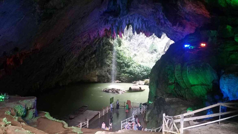 Yingxi Limestone Hills- Dongtian River Tunnel