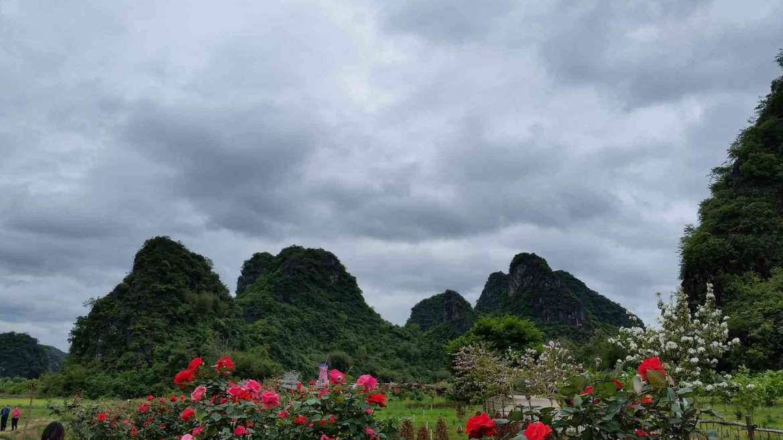 Yingxi Limestone hills- Jiulong Small Town