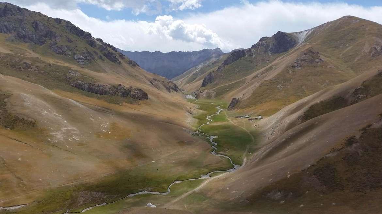 Tash Rabat valley, Kyrgyzstan, to Chatyr Kol lake