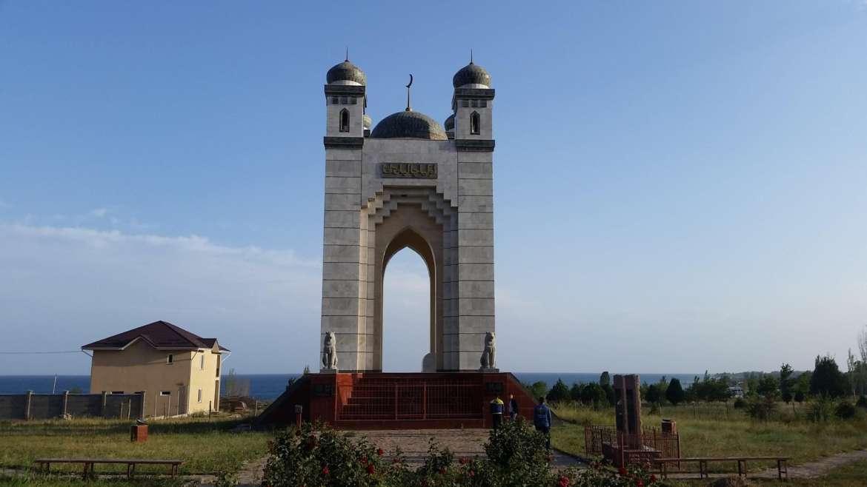 A trip to Kyrgyzstan- Cholpon Ata Islamic monument