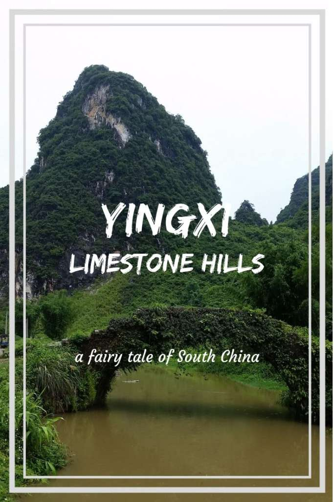 A journey to Yingxi Limestone hills area- a little known fairy tale of South China