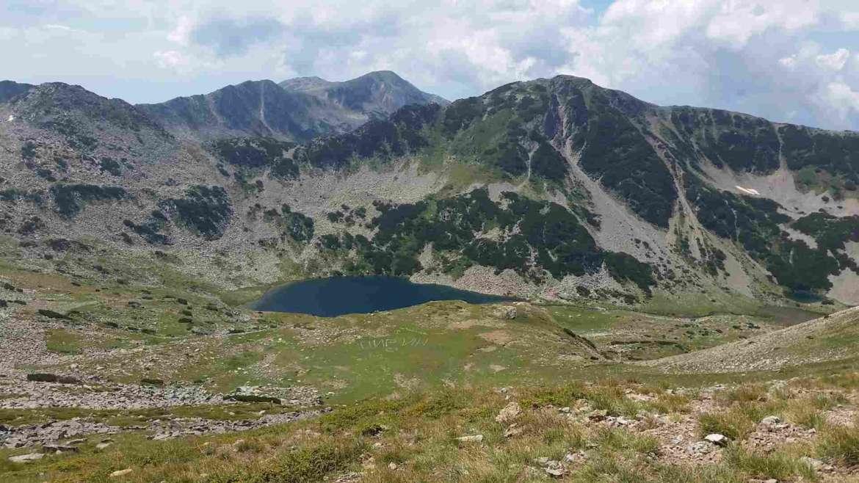 A landscape of Pirin mountain, Bulgaria