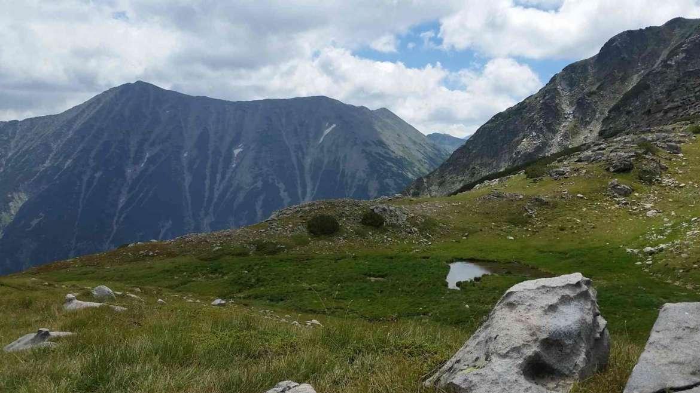 A view to Todorka peak in Pirin mountain, Bulgaria