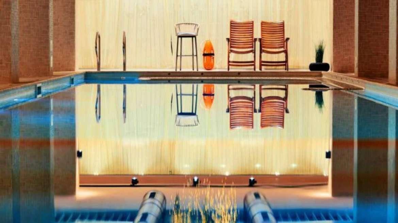 The bio pool in the SPA center of Lucky Bansko Apart Hotel & SPA, Bansko, Bulgaria