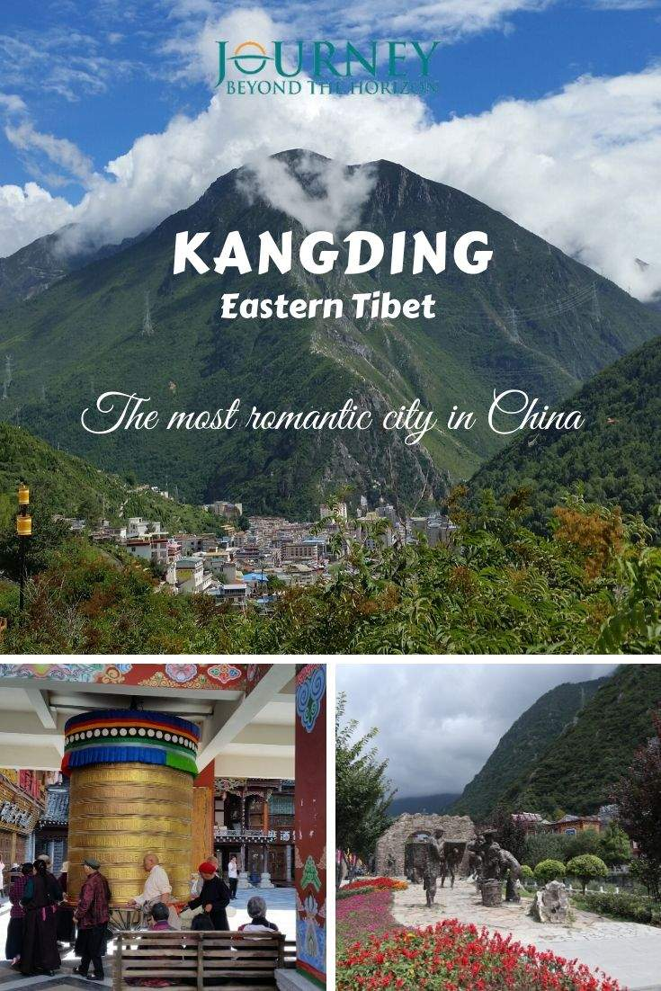 Kangding is the most romantic city in China. Located in Sichuan, on the edge of Tibet, it is the birthplace of Kangding Love Song.