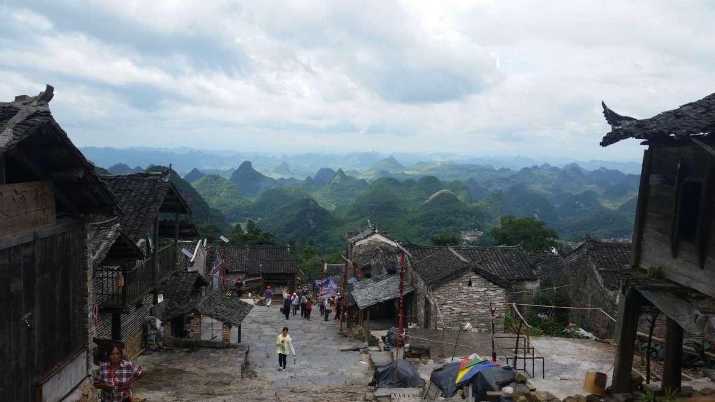 The land of Yao minority, Thousand Years of Yao village in Liannan, Guangdong, China