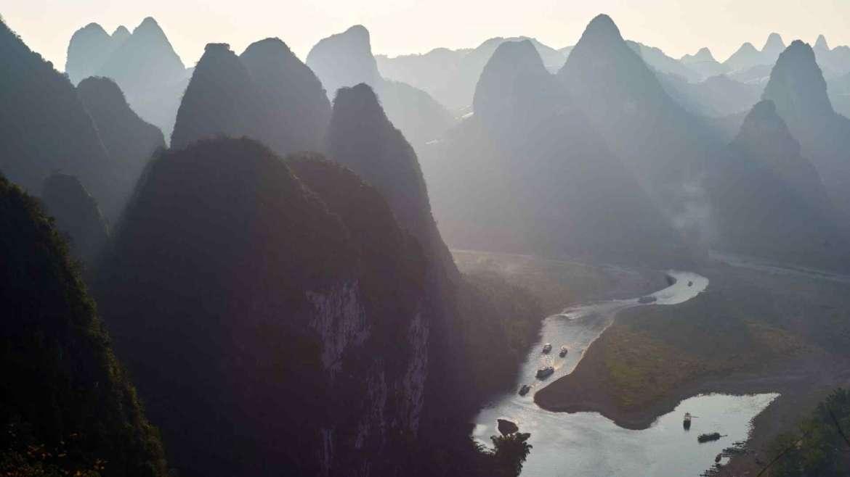 Karst hills area- Guilin