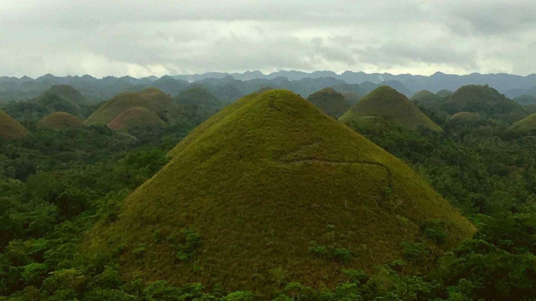 Chocolate Hills in Bohol Island