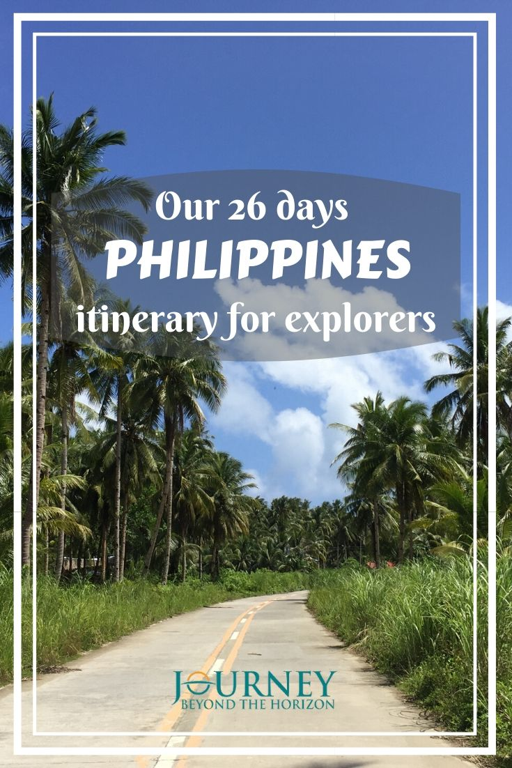 The Philippines is an incredibly beautiful island country. See our 26 days Philippines itinerary, built to explore as more as possible of this country!
