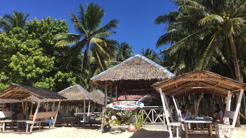 On a beach in the Philippines- Daku Islands