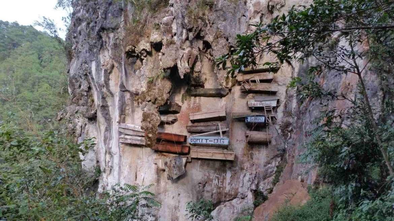 The Hanging Coffins, Sagada, Philippines