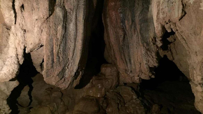 Rock formations in Sumaguing Cave, Sagada, Philippines
