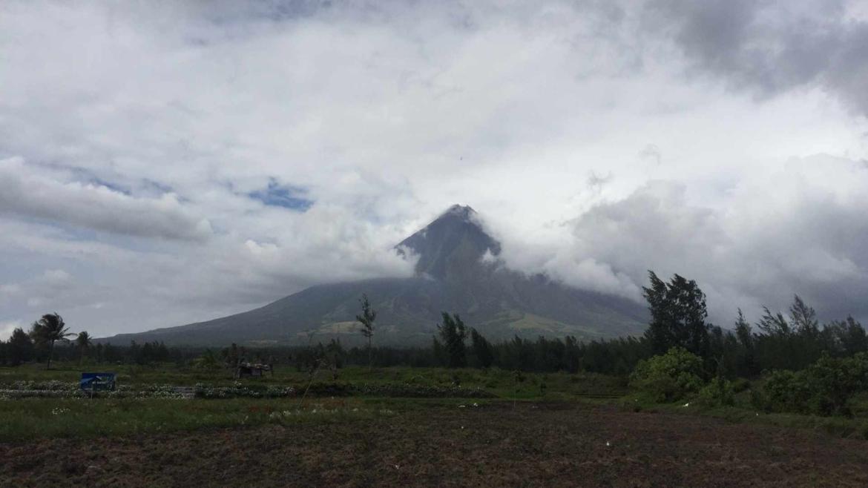 Mayon Volcano near Legazpi