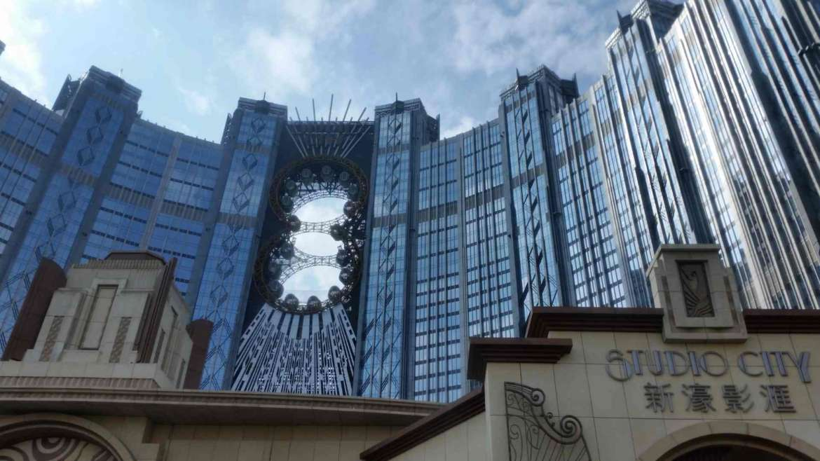 Cotai Studio City with the 8-shaped Ferris wheel, Macau