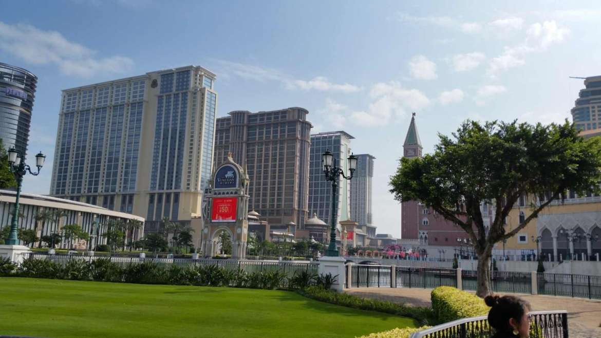 In Cotai Strip, Macau