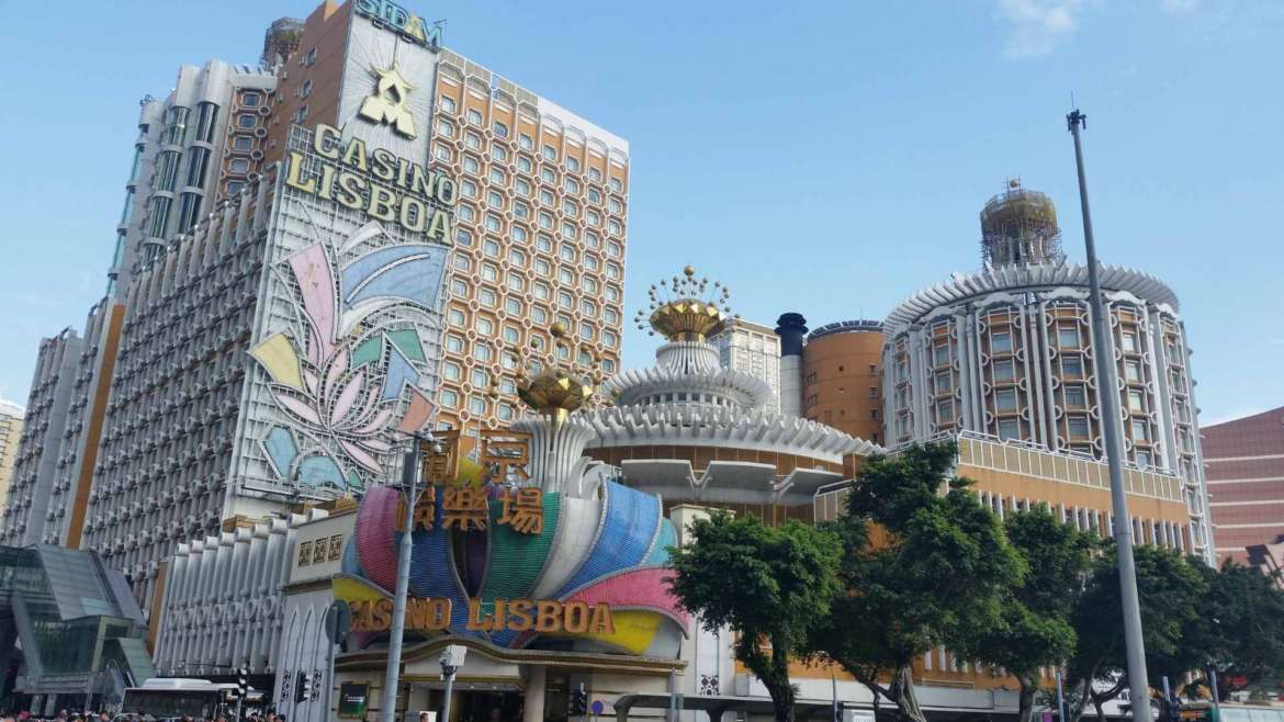 The luxury area of Peninsular Macau