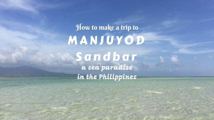 How to make a trip to Manjuyod Sandbar- a sea paradise in the Philippines