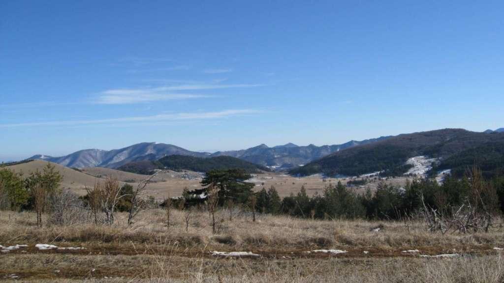 On Dobrostan Plateau, over Bachkovo Monastery