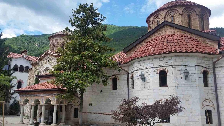 In the northern yard of Bachkovo Monastery