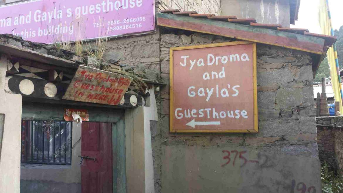 Accommodation in China- find a guesthouse