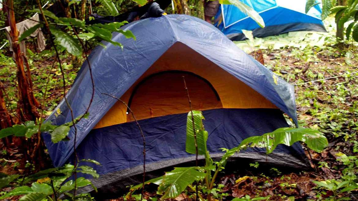 Best tents for explorers- camping in rain forest