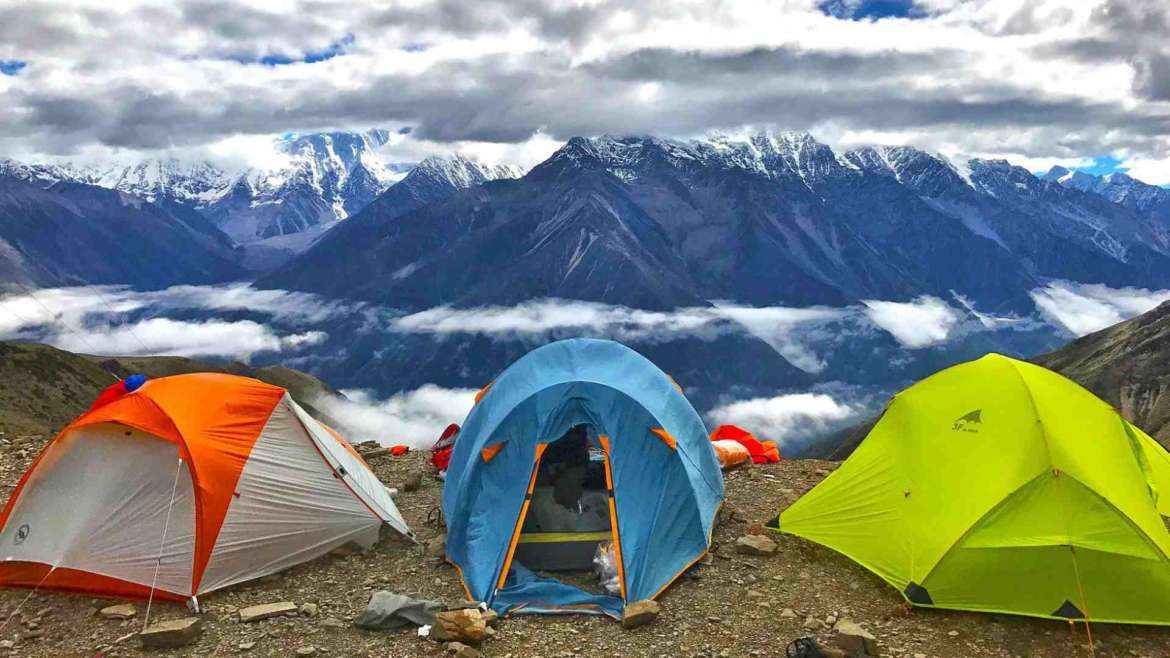 Best tents for explorers- camping in Mt. Minya Konka, China