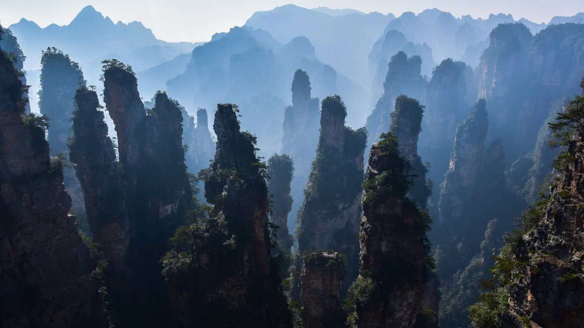 Explore South China! Zhangjiajie- Avatar Mountain in Hunan