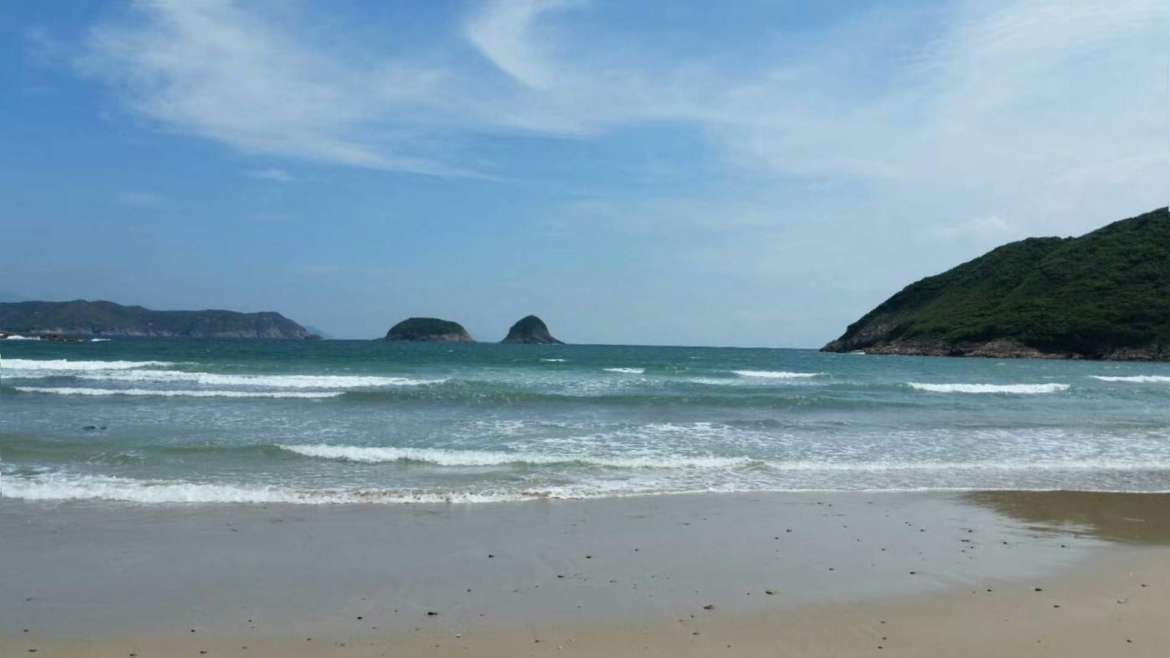 Explore South China! Saiwan Beach in Sai Kung, Hong Kong