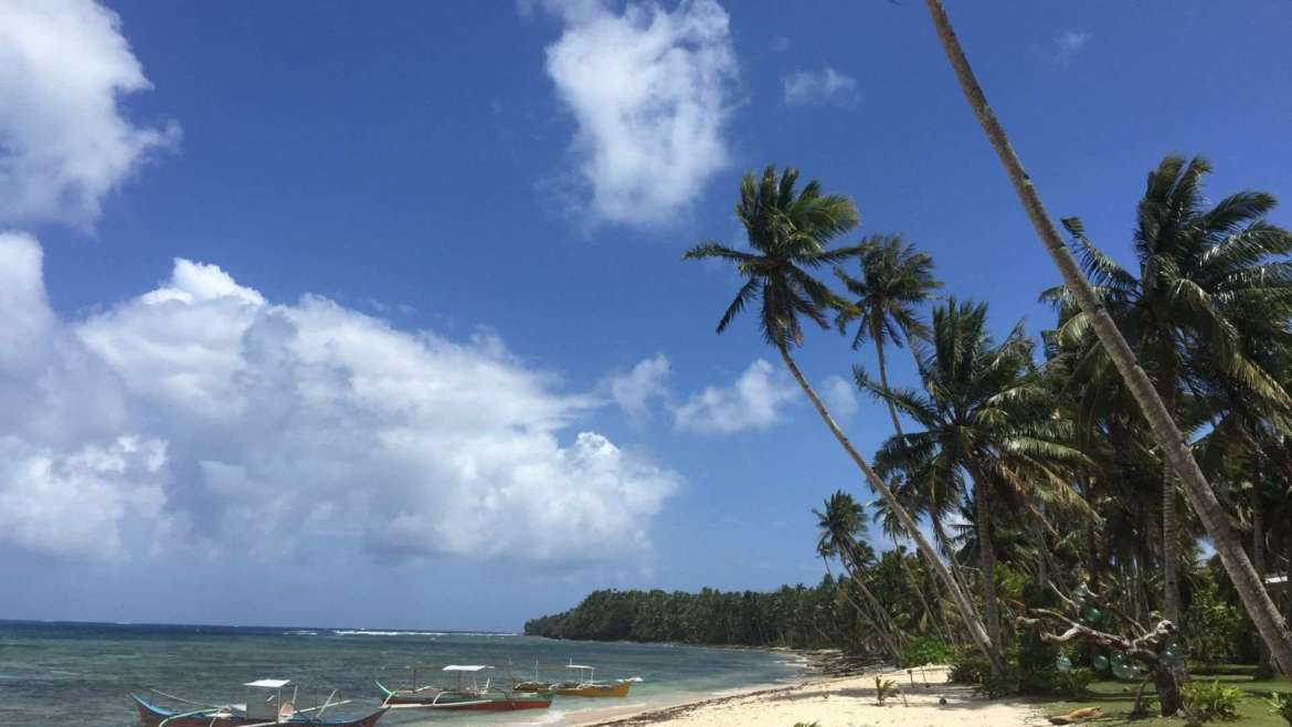 What to do in Siargao- walk on the coast of Siargao Island, Union Beach