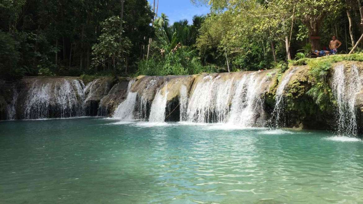 What to do in Siquijor- Cambugahay Falls
