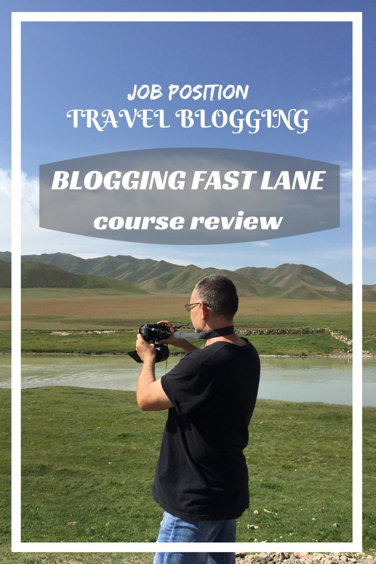 Have you ever thought that traveling can be your job? Learn more about one of the good ways to do it- by travel blogging, and the guidance for it- Blogging Fast Lane!