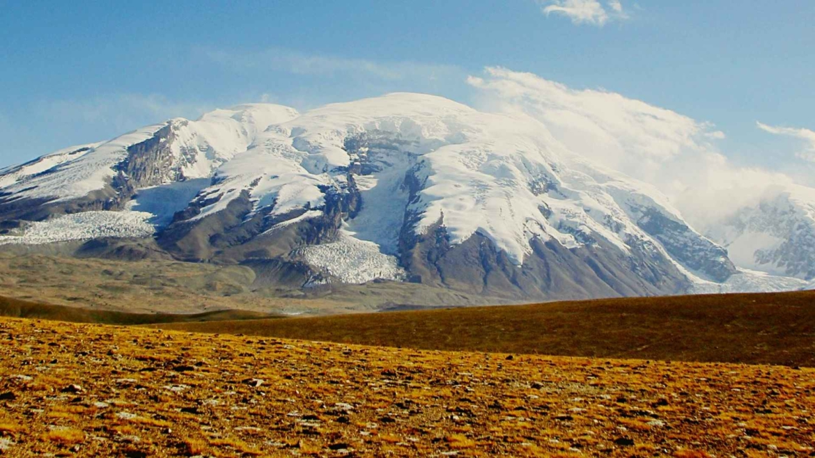 Xinjiang travel- Muztagh Ata peak in Pamir