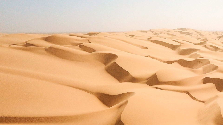 Taklamakan Desert- a vast sea of sand