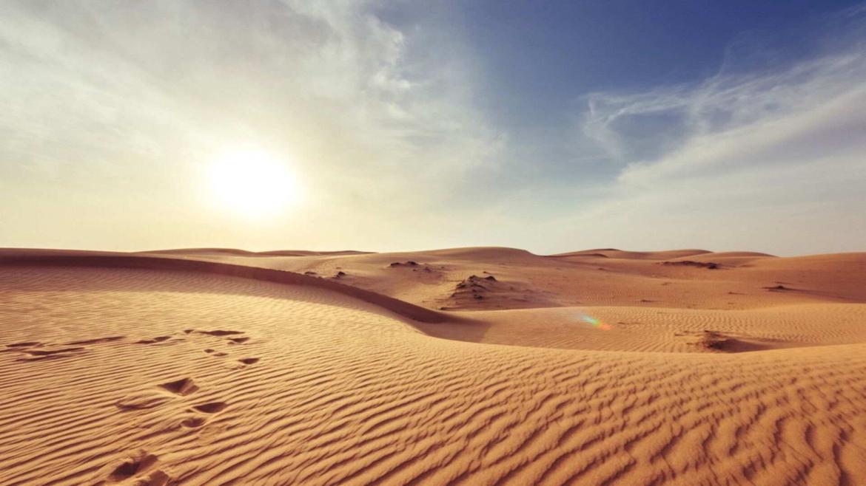 Endless sea of sand