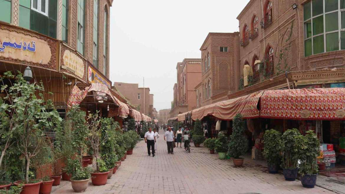 A journey to Kashgar- on the streets of the Old City