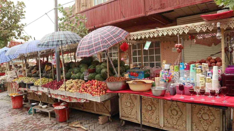 A journey to Kashgar- the fruits of Kashgar