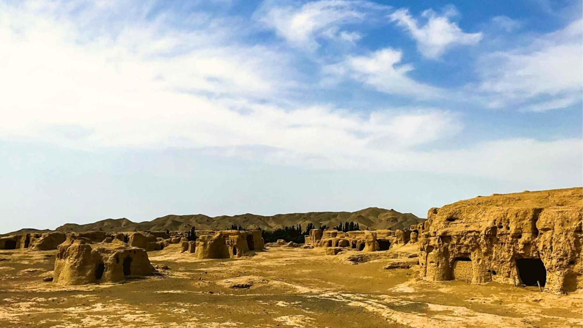Xinjiang travel- Ghost City near Hami