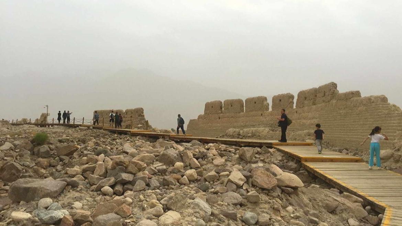 Travel on the Karakoram Highway in Xinjiang, China- Tashkurgan Stone City