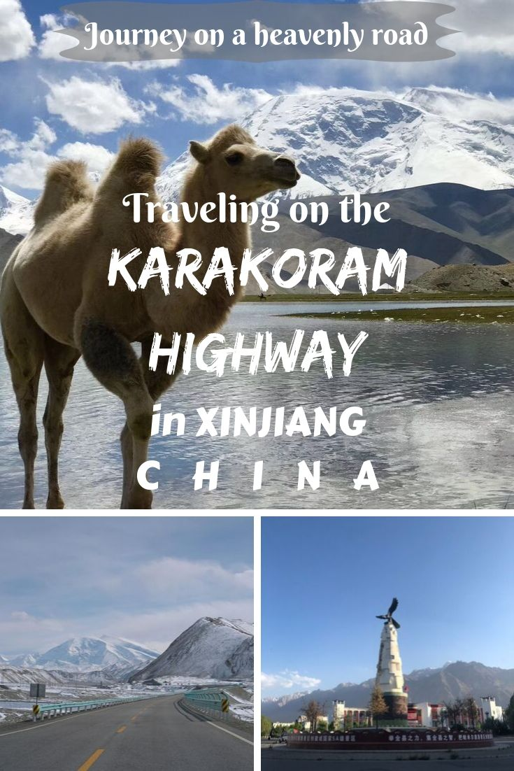 """Let's make a journey on one of the most beautiful """"heavenly roads"""" on the Earth. Check out about travel on the Karakoram Highway in Xinjiang, China!"""