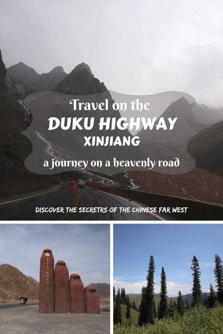 Let's travel on one of the most beautiful roads on the Earth- Duku Highway in Xinjiang, China, which crosses the stunning Tianshan Mountains from south to north!