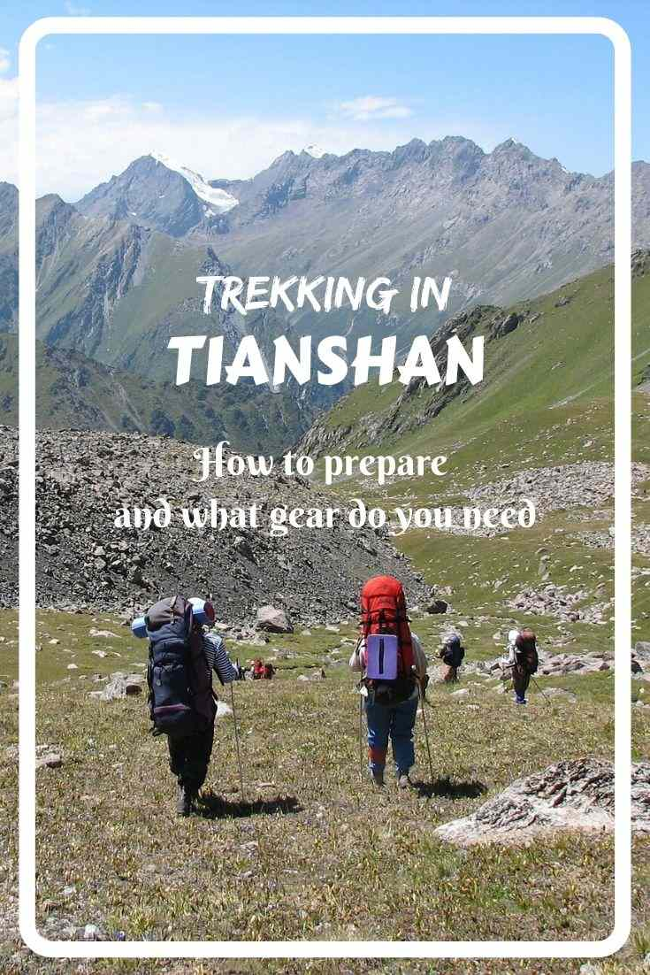 Tianshan is one of the most beautiful mountain ranges on Earth. And trekking in this mountain area is the best way to explore it. Get more information how to prepare and what gear do you need for trekking in Tianshan!
