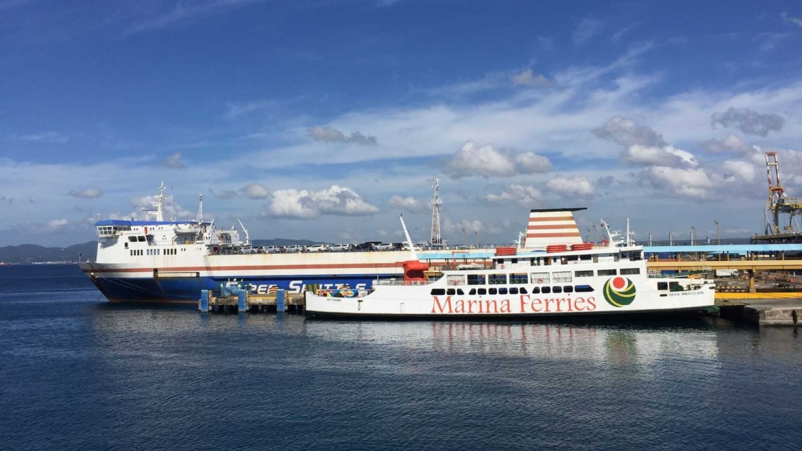 Ferry ship at Batangas Port