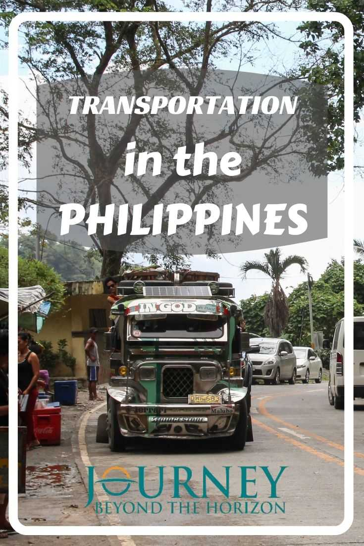Transportation in the Philippines | Planning a trip around the Philippines? The transportation within the country has its specific features, so check more information about it and plan your itinerary accordingly!