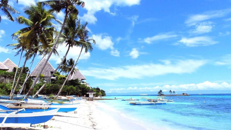 A beach resort in Panglao Island