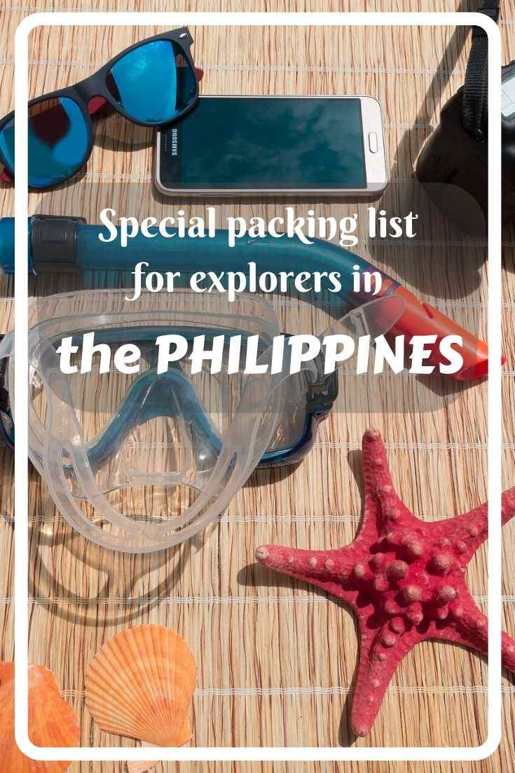 Get more information what specific activities you can do in the Philippines to explore the country, and packing list you need for them!