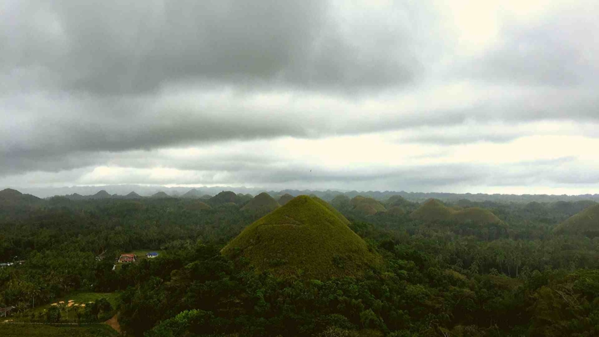 The Chocolate Hills of Bohol