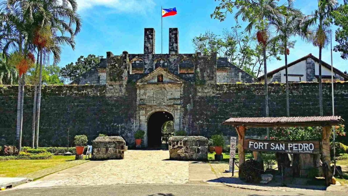 The gate of Fort San Pedro