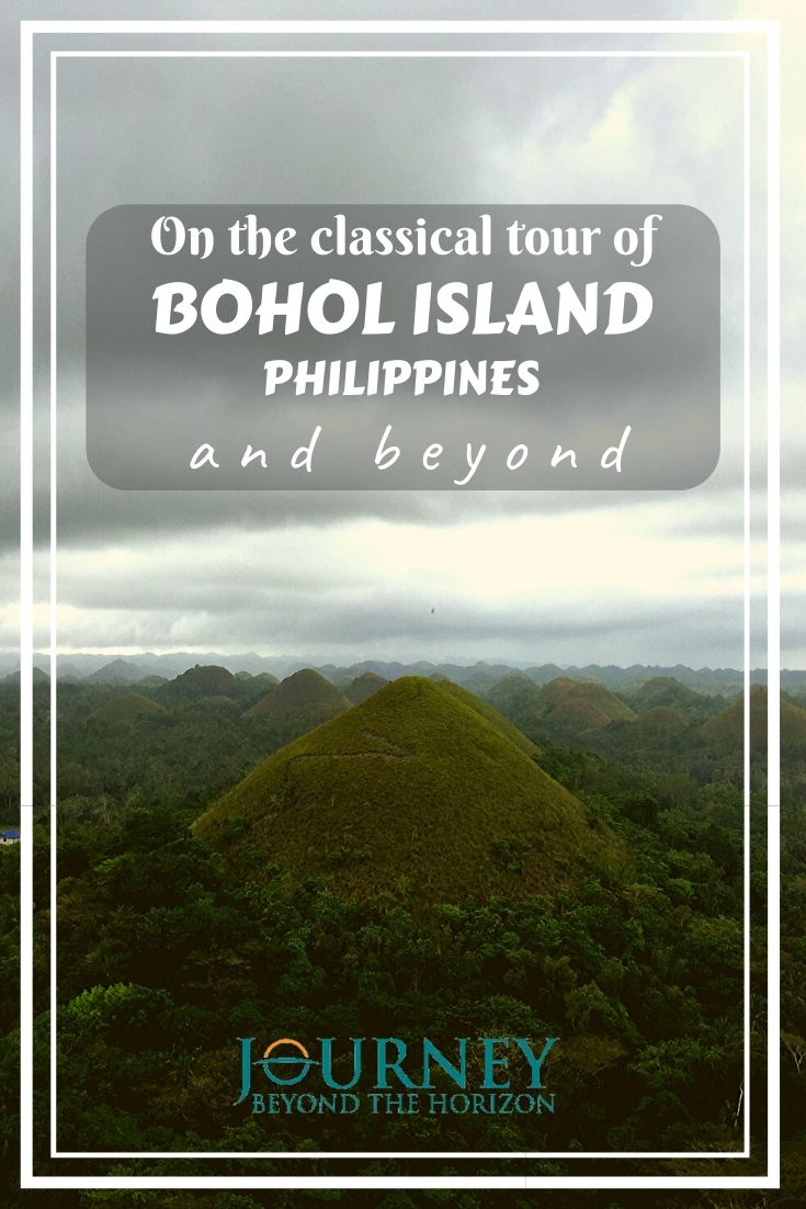 Explore Bohol, one of the most diverse islands in the Philippines by doing its classical tour. And if you have more time, travel beyond it!